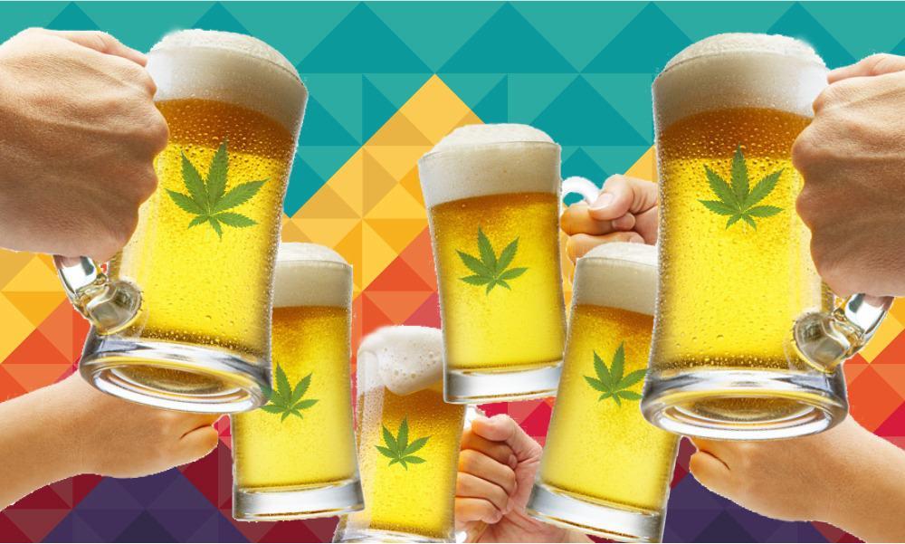 Bebidas alcohólicas con marihuana