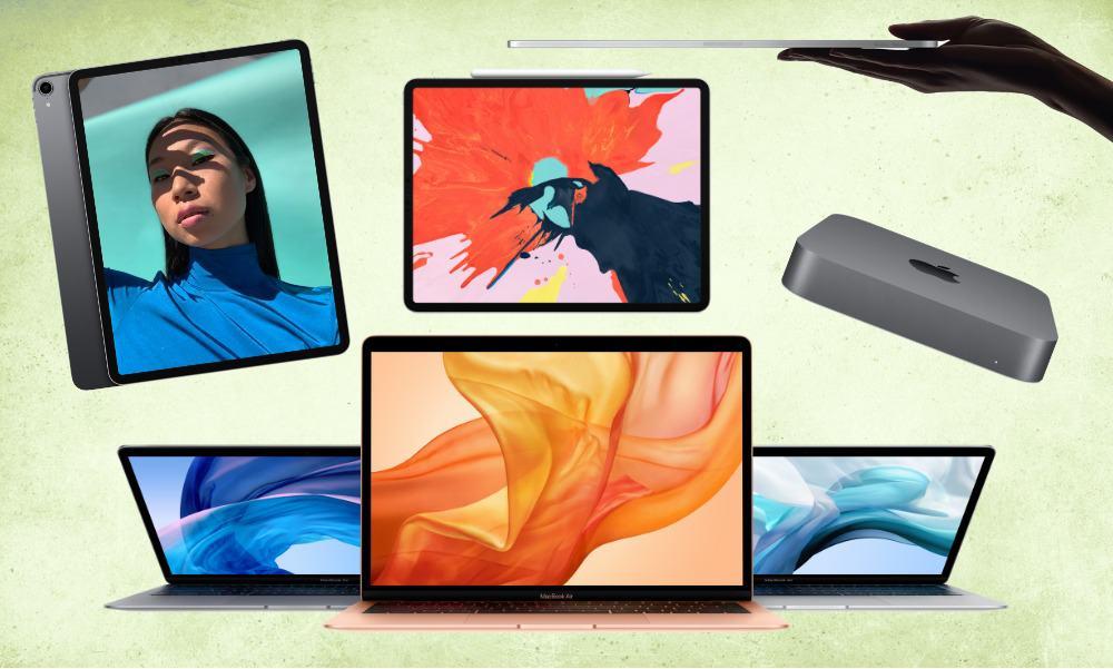 Productos Apple octubre 2018