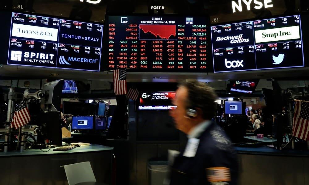 BMV Wall Street cierra en rojo