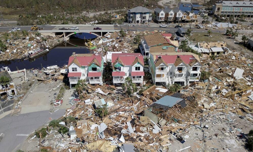 Pérdidas por el huracán Michael en EU.