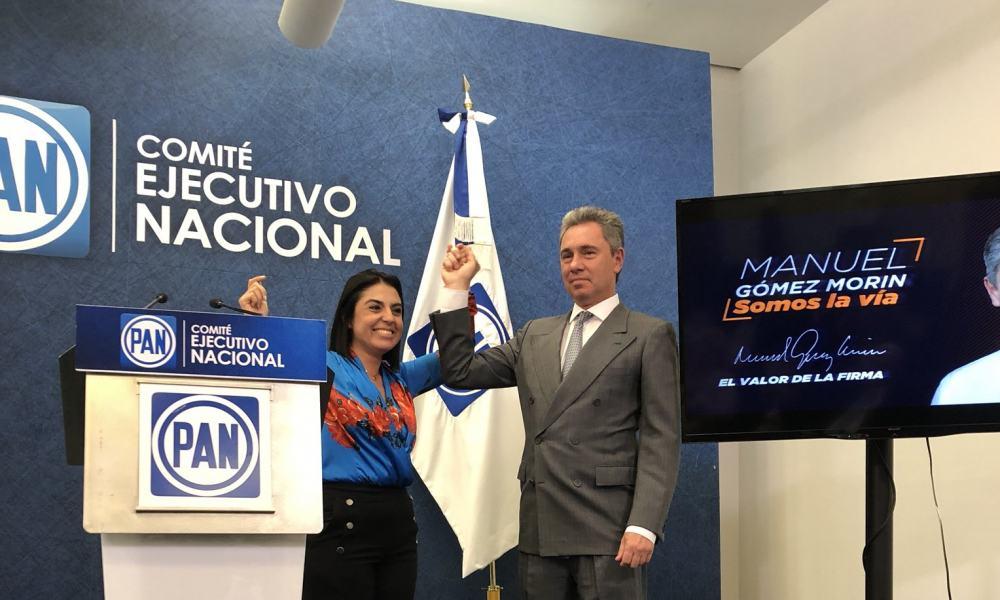 Mirelle Montes y Manuel Gómez Morín