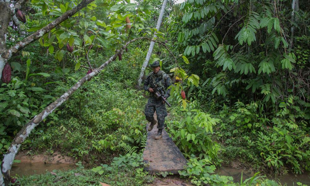 Narcotráfico en Centroamérica