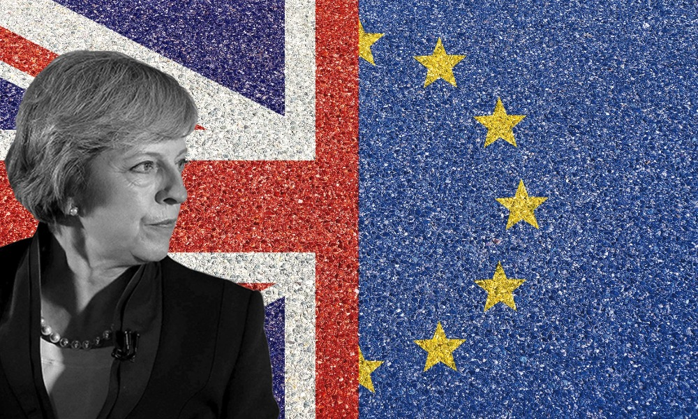Brexit, Theresa May
