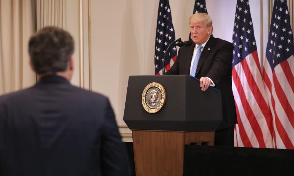 Donald Trump, Jim Acosta
