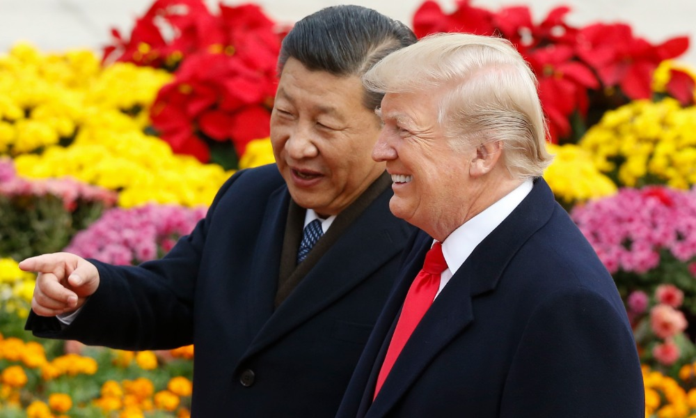 Xi Jinping y Donald Trump (Getty Images)
