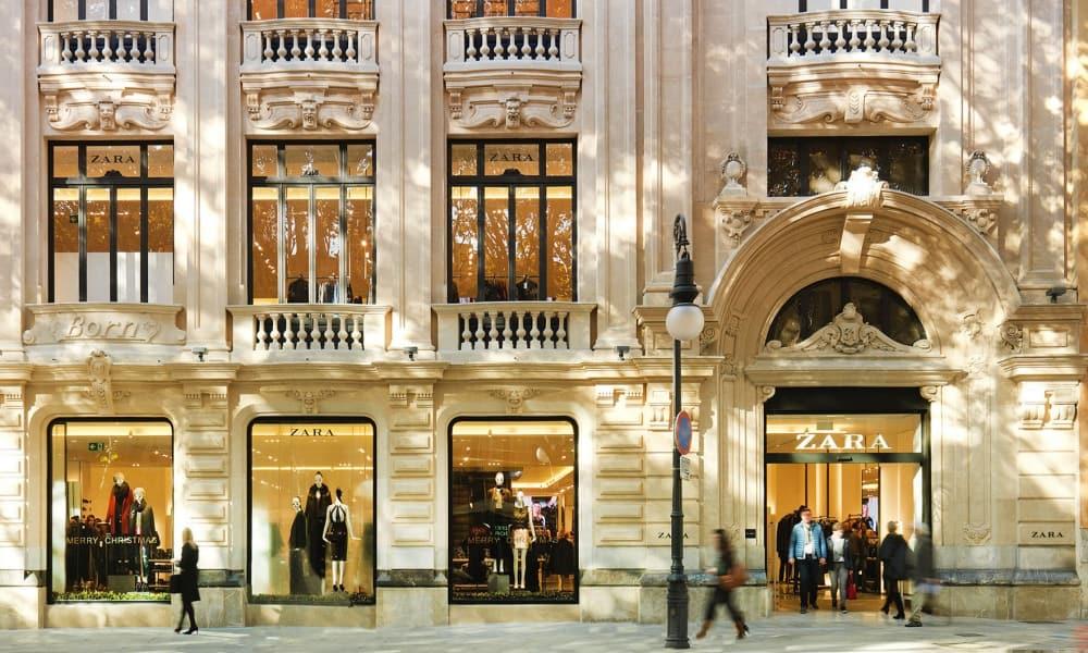 Tienda de Zara en Mallorca