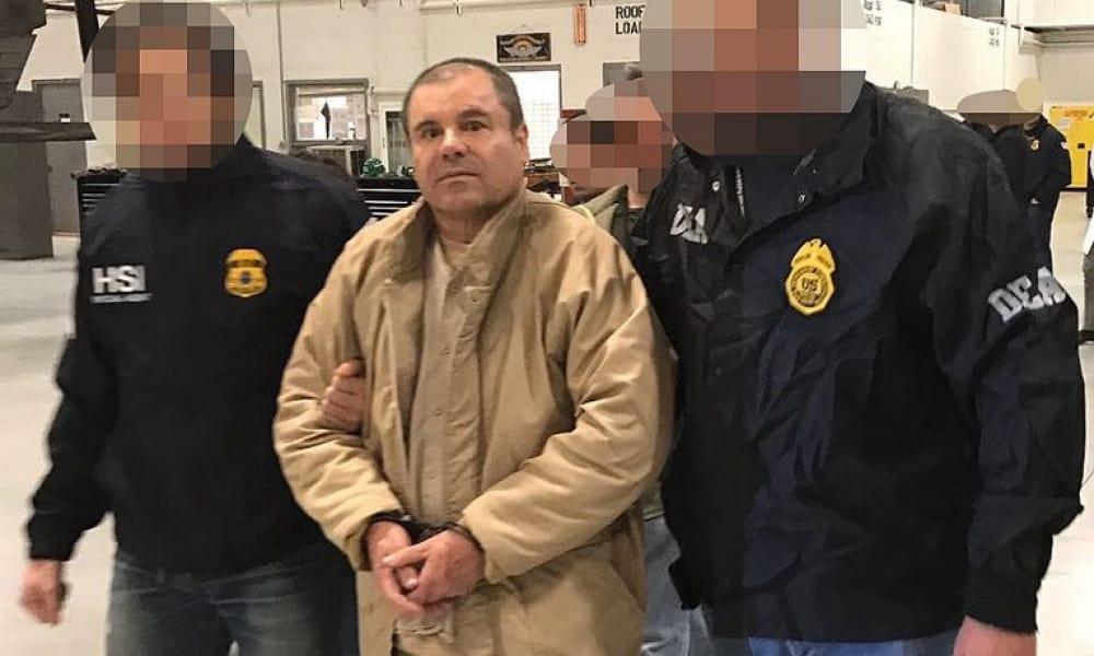 Joaquín 'el Chapo' Guzmán fue extraditado a EU en enero de 2017