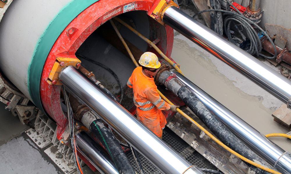 Construcción de gasoducto de gas natural de Transcanada en México