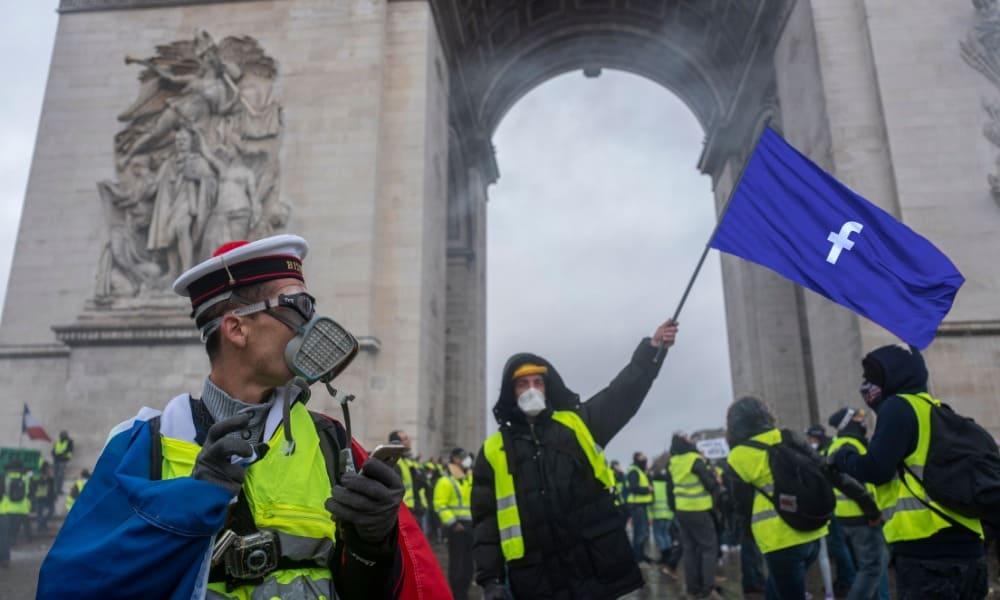 Protestas chalecos amarillos en Francia
