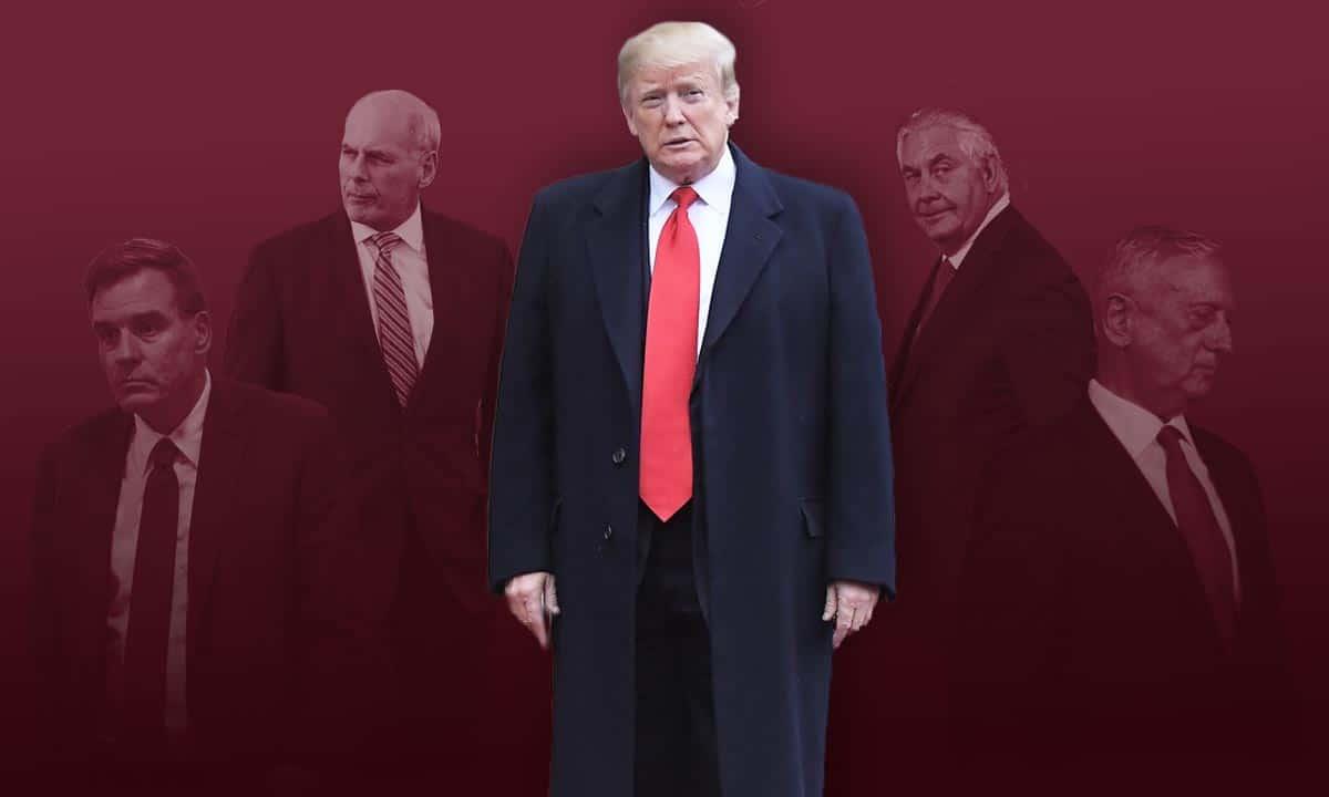 Donald Trump, Donald Trump gabinete renuncias