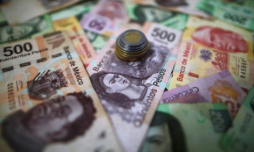 Billetes y monedas de pesos