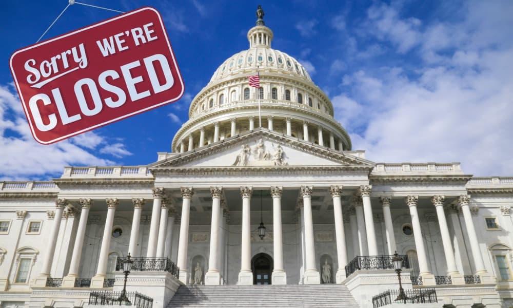 shutdown, cierre gobierno, casa blanca
