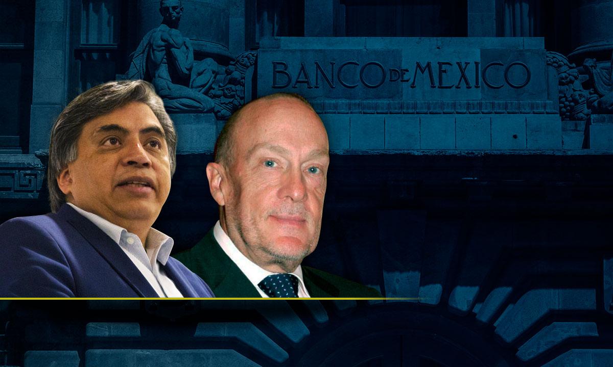Gerardo Esquivel y Jonathan Heath.
