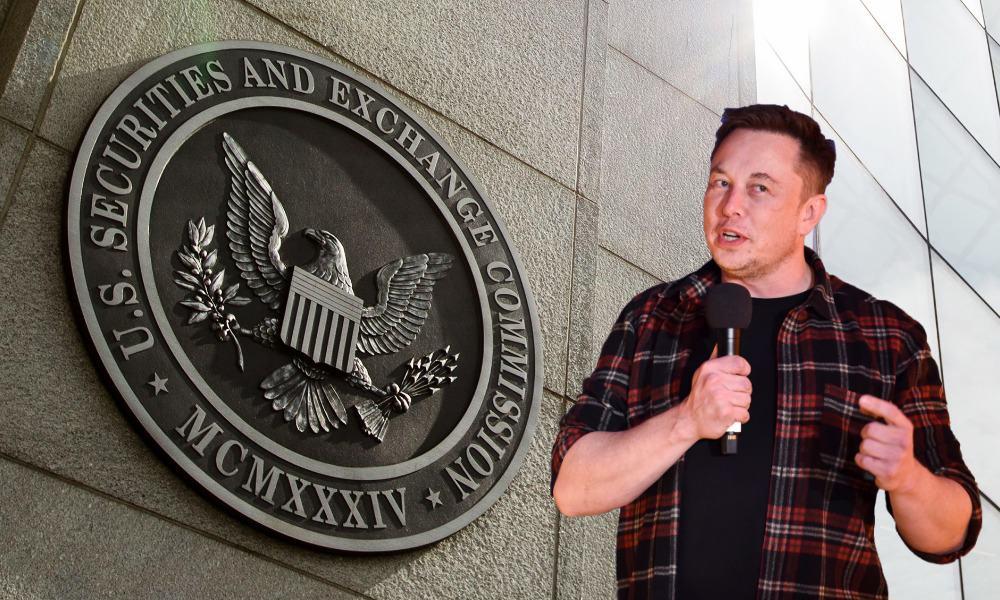 Elon Musk, SEC