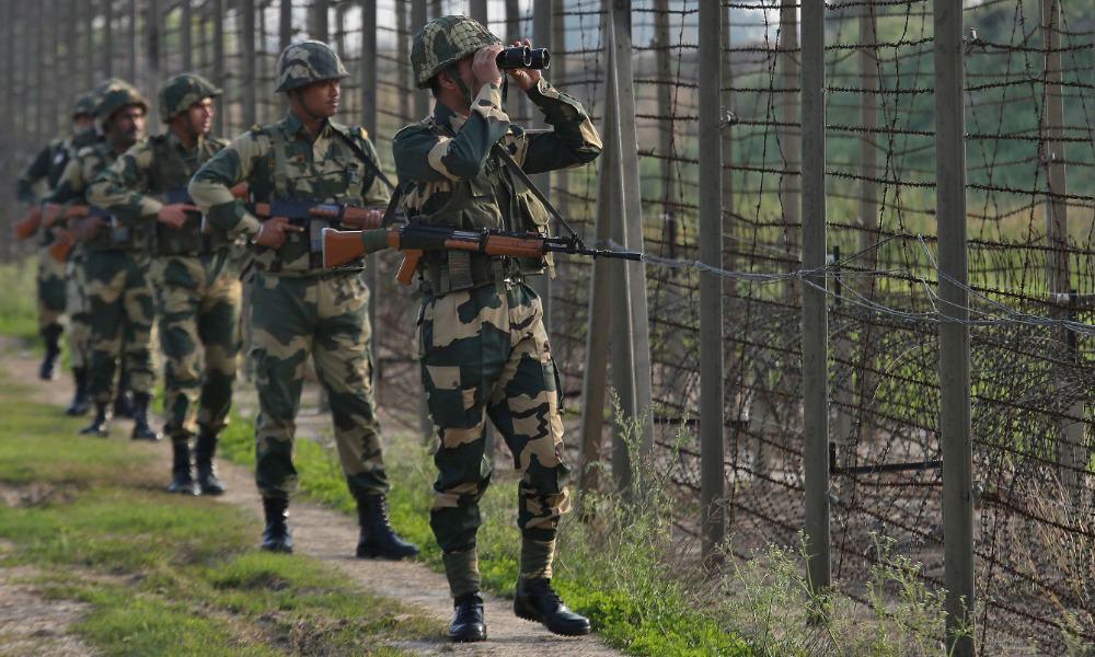 India, soldados, pakistan