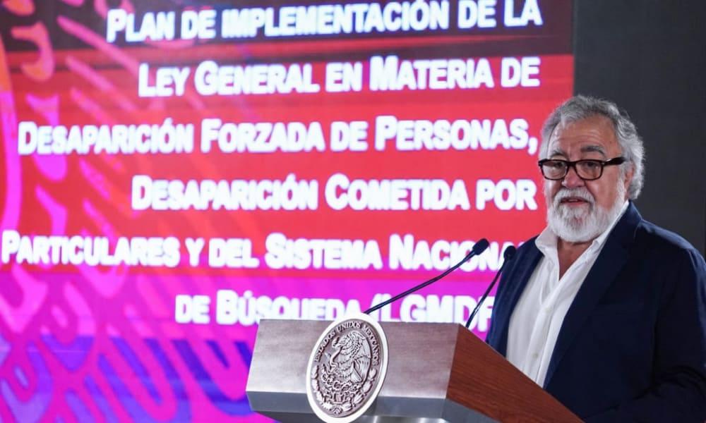 Alejandro Encinas, subsecretario de Derechos Humanos de la Secretaría de Gobernación