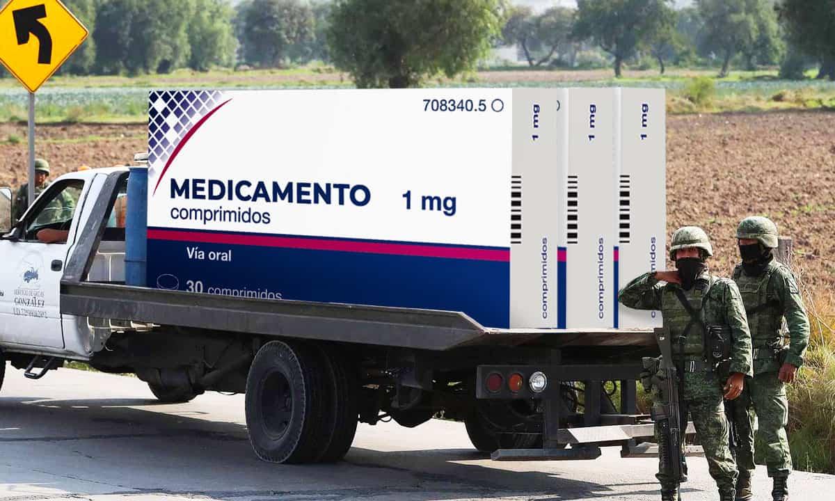 El robo de medicamentos también preocupa al gobierno.