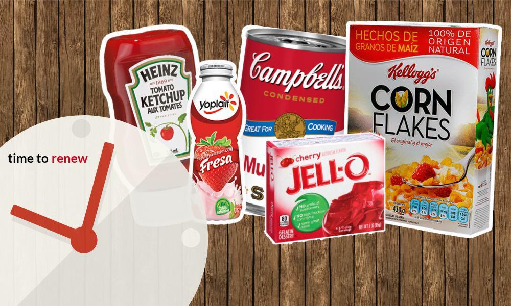 comida, comida estadounidense, heinz, campbell, corn flakes