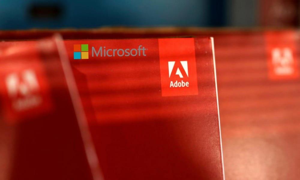 Adobe, Microsoft