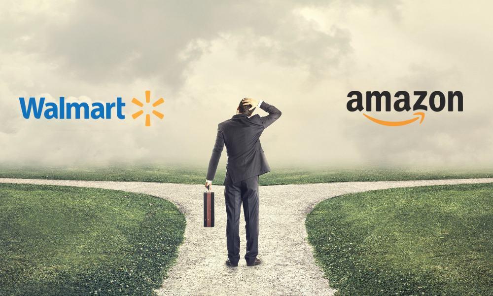 Walmart, Amazon