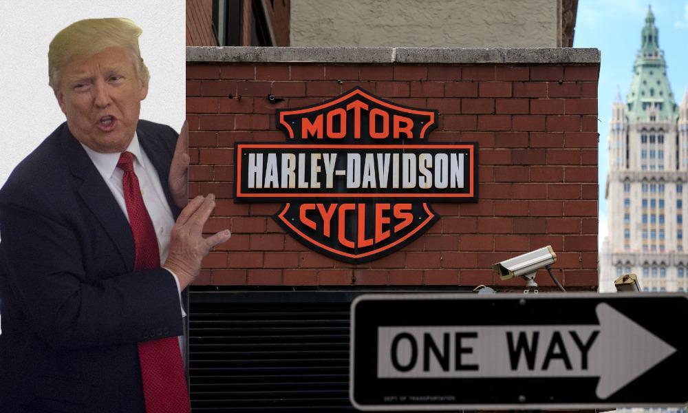 Harley-Davidson, Donald Trump