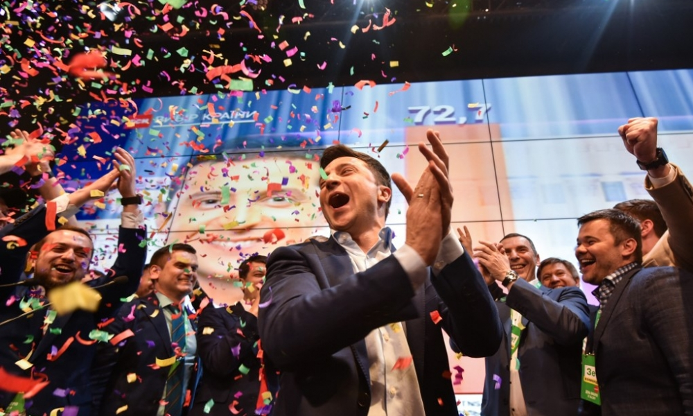Volodymyr Zelenskiy, nuevo presidente de Ucrania.