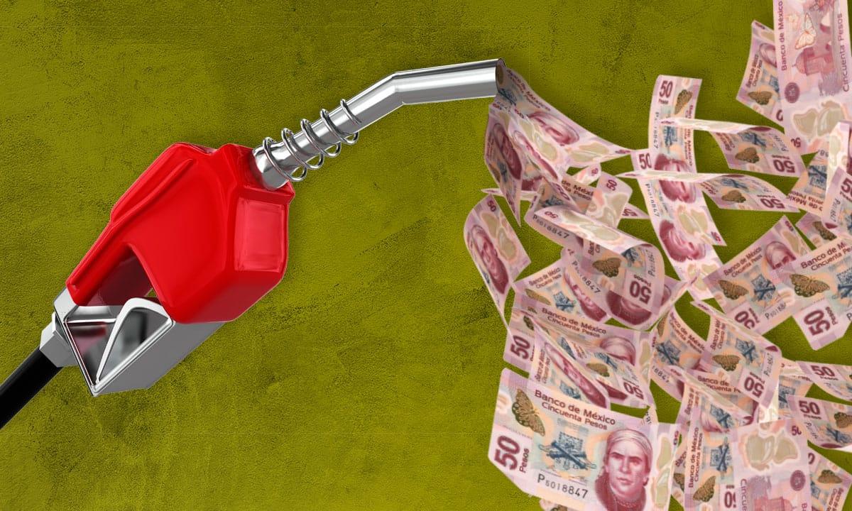 Mexicanos aumentan gasto en gasolinas.