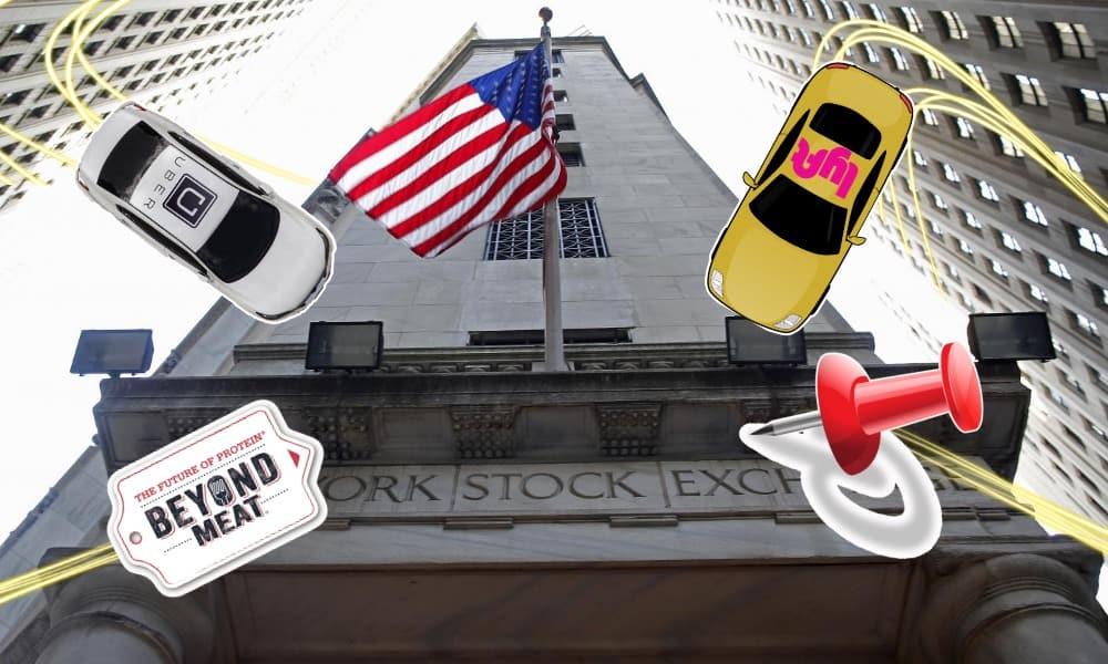 Uber, Lyft, Pinterest, Beyond Meats, NYSE, Wall Street