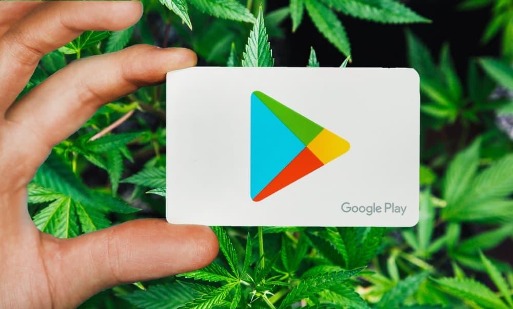 Google Play Store, Google, weed, marihuana
