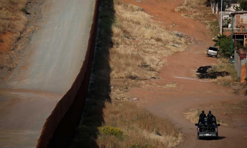 muro fronterizo EU México