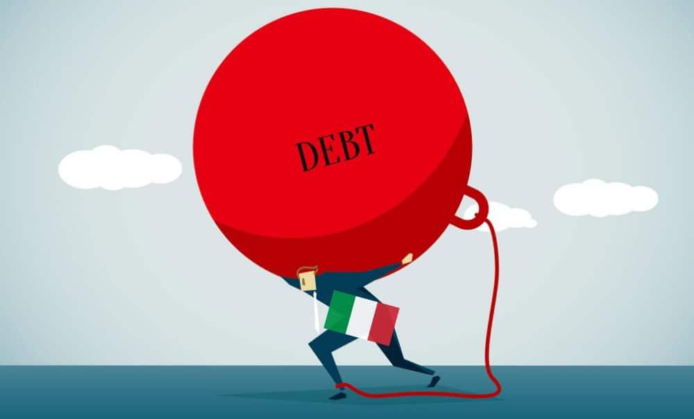 Italia, deuda