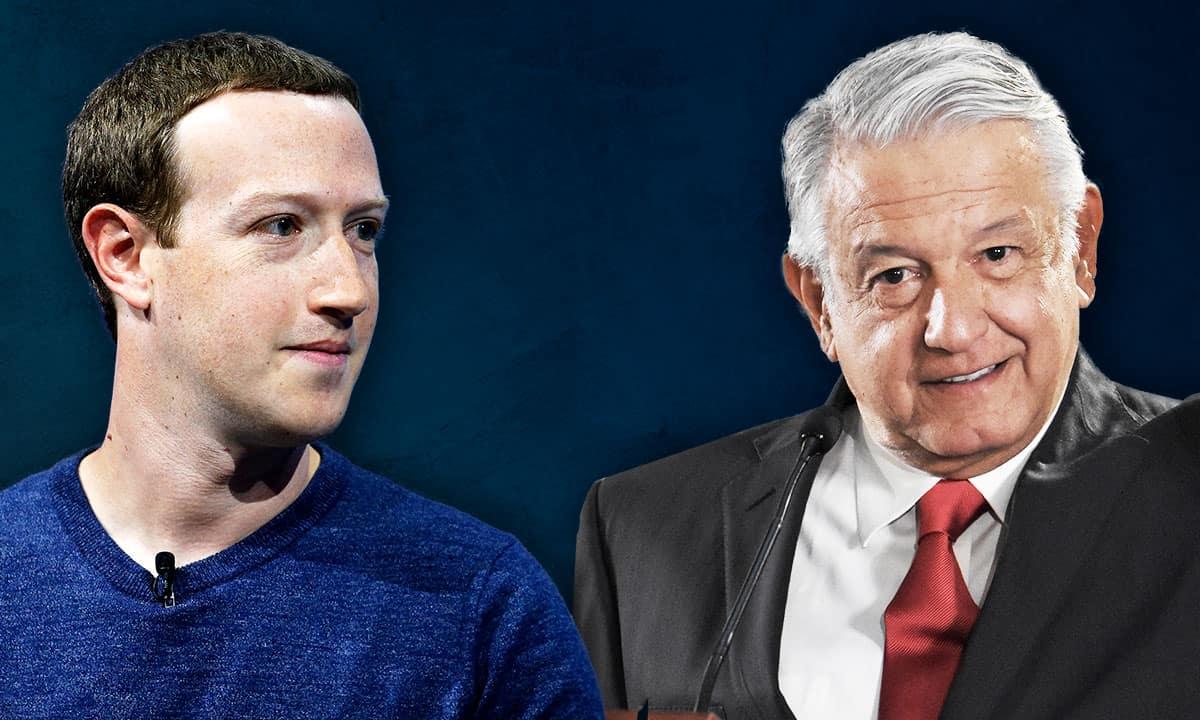Mark Zuckerberg y AMLO