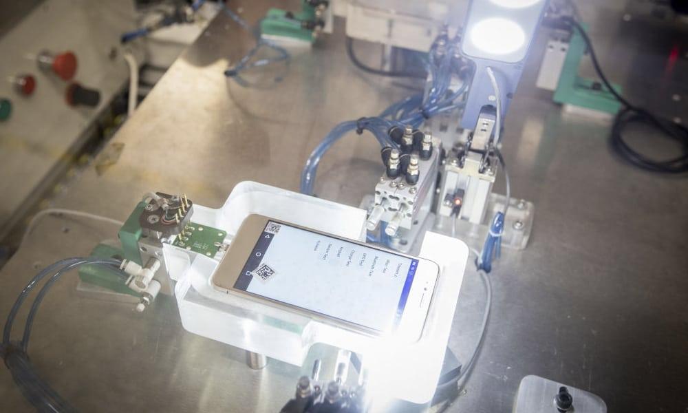 iPhones fabricados por Foxconn en China