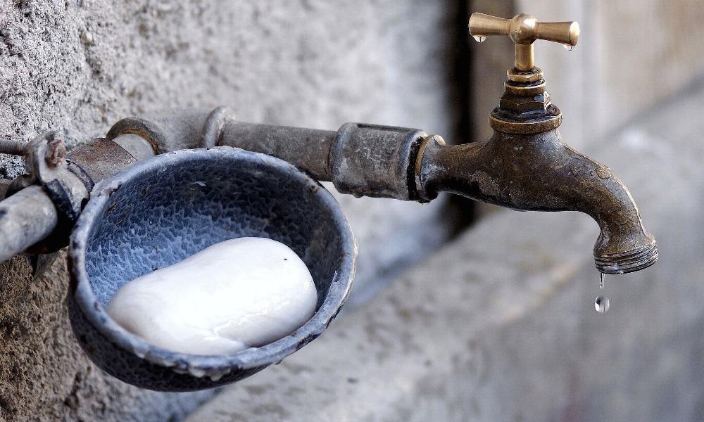 faucet, llave agua