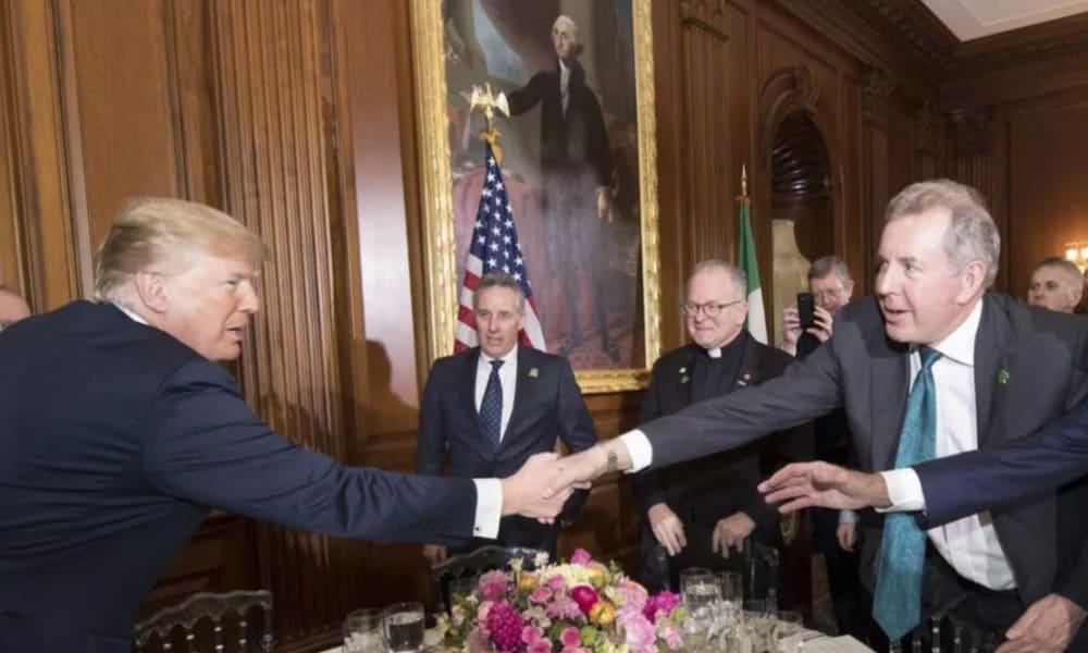 Donald Trump y Kim Darroch