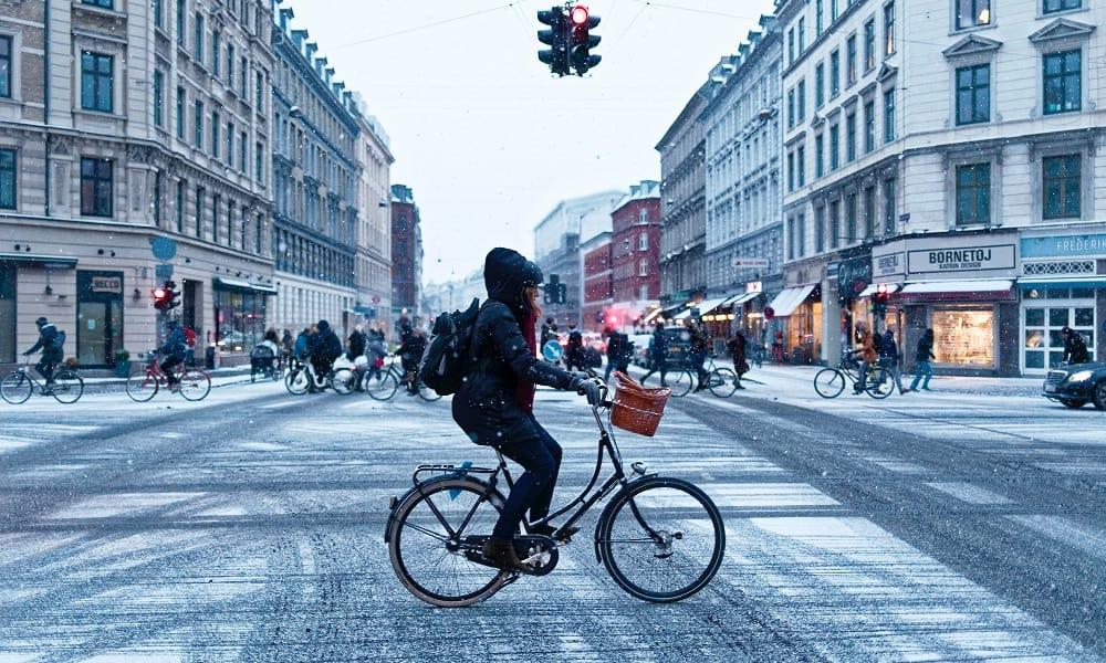 Movilidad ciclista en Copenhague
