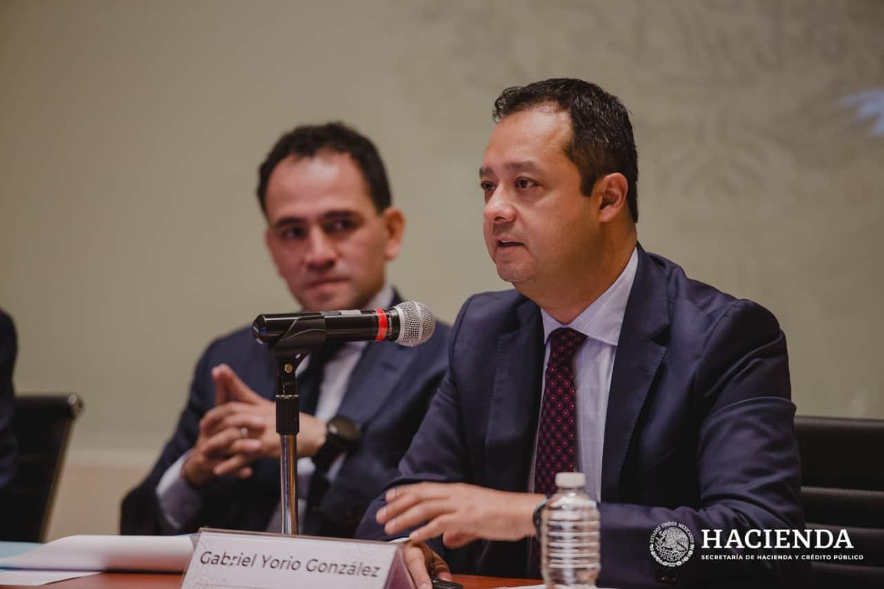 Gabriel Yorio, subsecretario de Hacienda