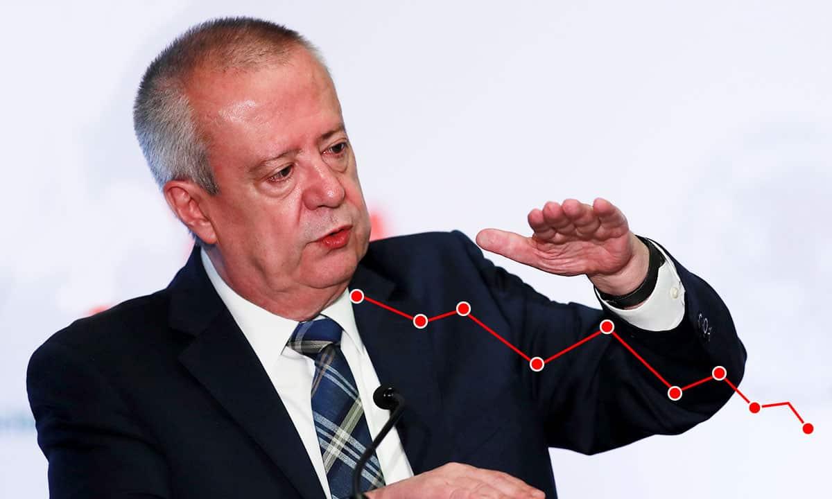 Bolsa Mexicana baja 1.75 por ciento en semana de renuncia de Urzúa