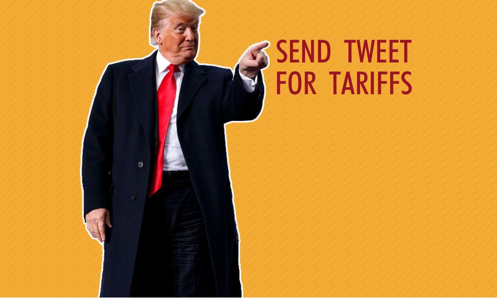 Donald Trump, twitter, aranceles, tarifas, china, tuit, arancel