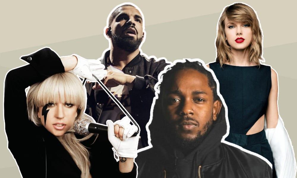 Tencent, Universal Music, Vivendi, Taylor Swift, Lady Gaga, Kendrick Lamar, Drake