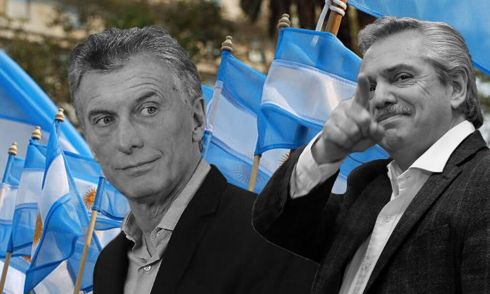 Mauricio Macri, Alberto Fernández