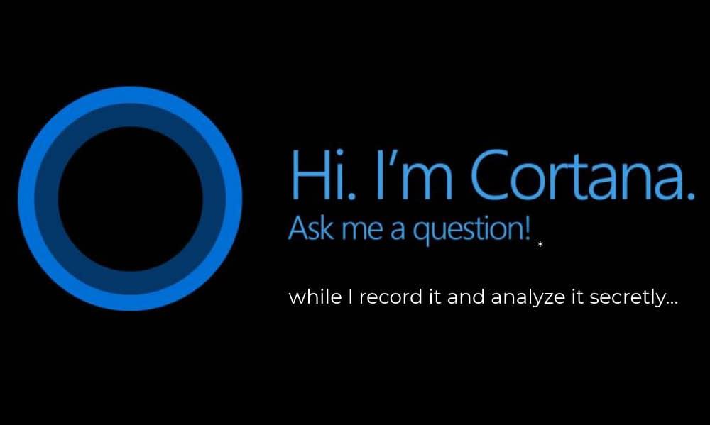 Cortana, Microsoft, conversation, speaker