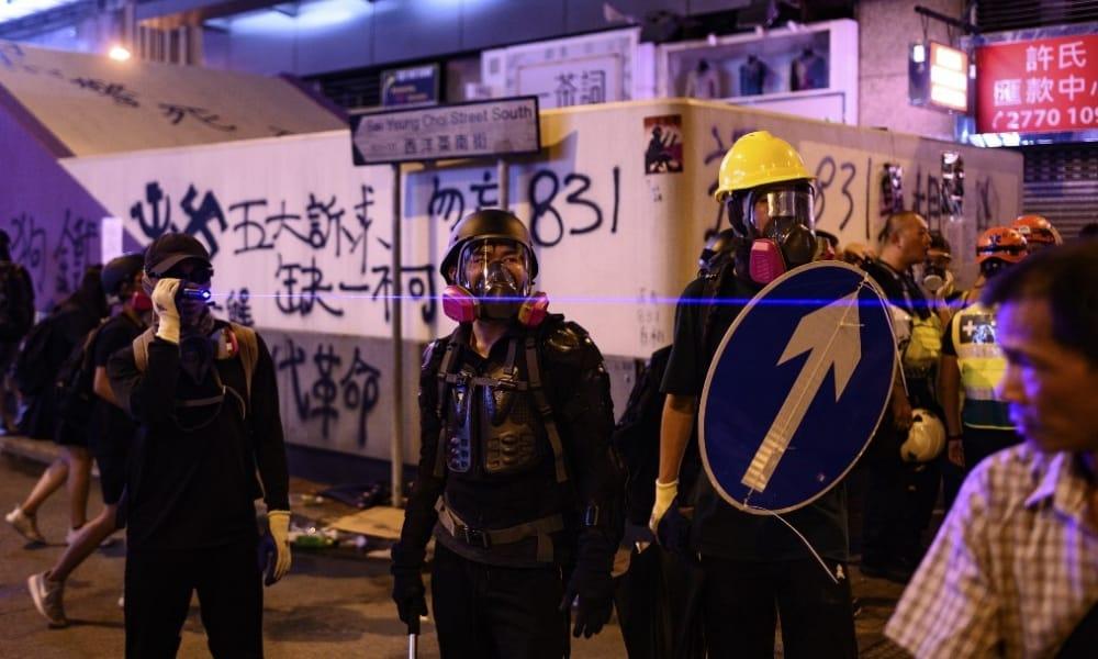 importante Hong Kong para China