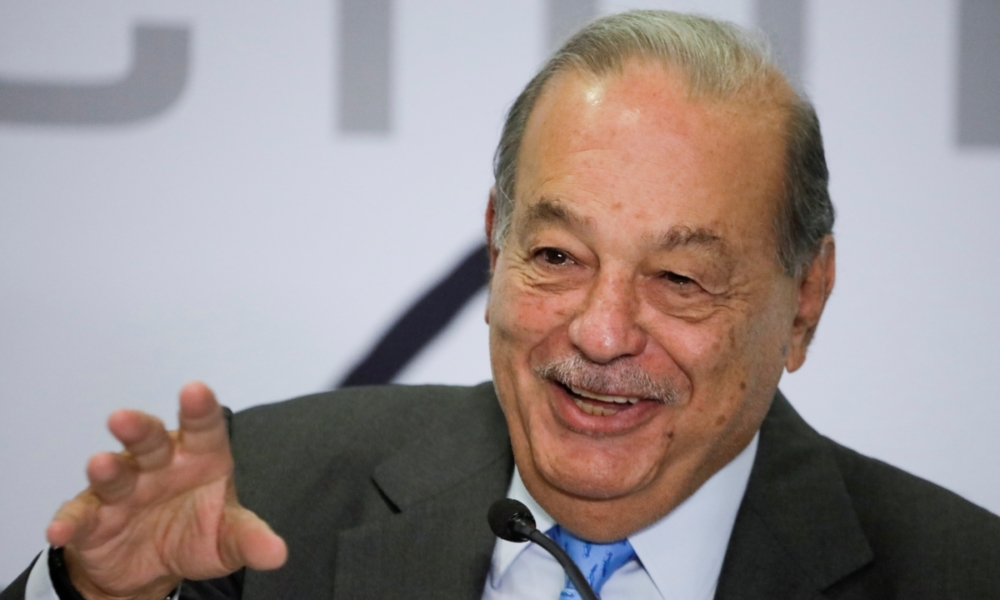 Carlos Slim optimista