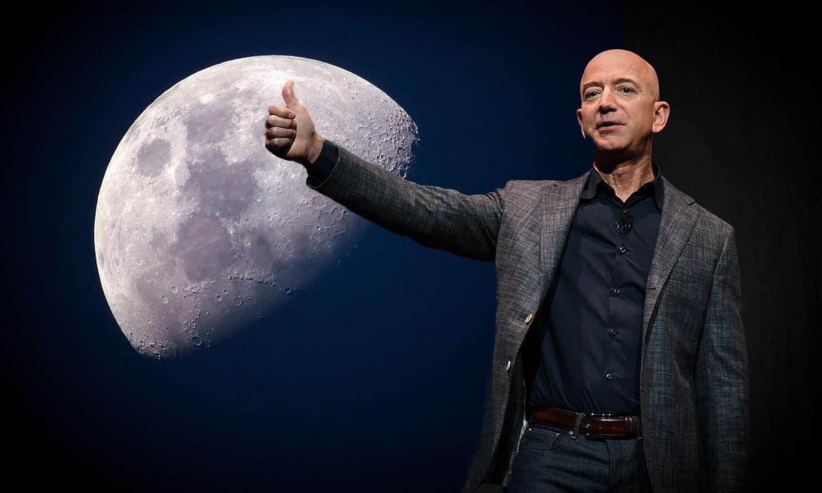 Jeff Bezos une fuerzas con firmas aeroespaciales para ir a la Luna