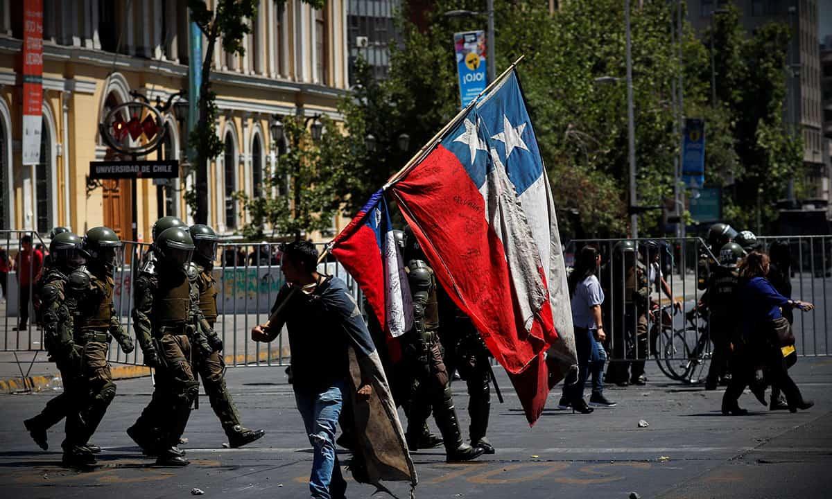 Descontento social en Chile (Reuters).