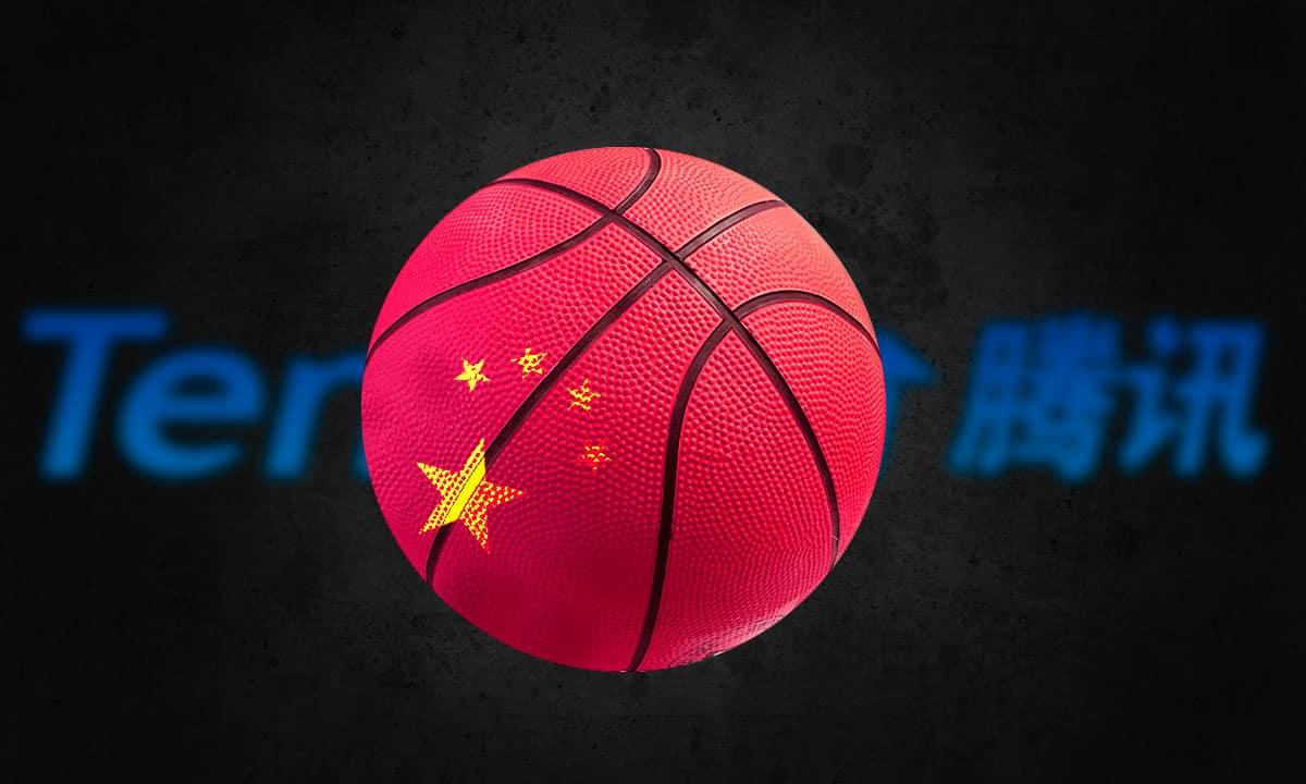 NBA China Tencent