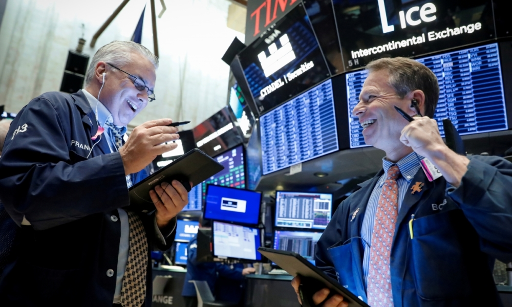Wall Street ganancias