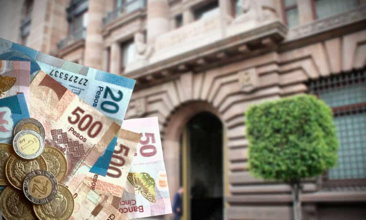 Salario mínimo y Banxico (Fotoarte: Cristian Laris)