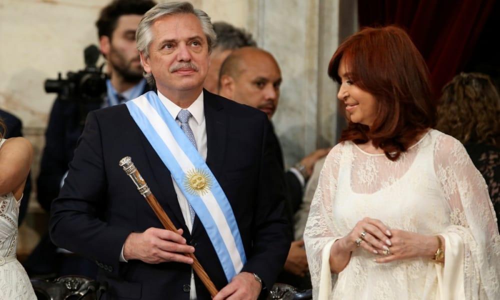 Alberto Fernandez. presidente Argentina